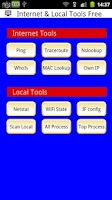 Screenshot of Internet & Local Tools Free