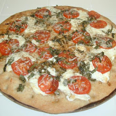 Fresh Mozzarella and Basil Pizza