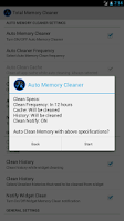 Screenshot of Total Memory Cleaner Free