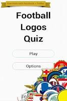 Screenshot of Football Logos Quiz