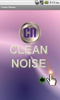 Screenshot of Clean Noise FREE