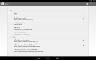 Screenshot of FTPDroid