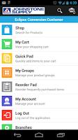 Screenshot of Johnstone Supply OE Touch