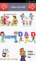 Screenshot of Father's Day Card