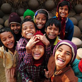 SMILEYS by Prasanta Singha - Babies & Children Children Candids (  )