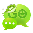 GO SMS Pro Frog Theme Free icon