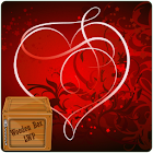 Love Heart Sparkle LWP icon
