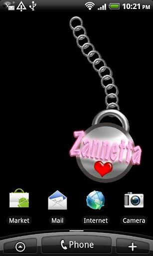 Zannetta Name Tag