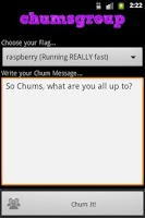 Screenshot of Chumsgroup
