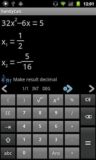 handyCalc Calculator