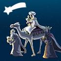 Weihnachts-Krippe 3D icon