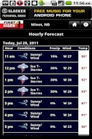 Screenshot of KMOT Wx