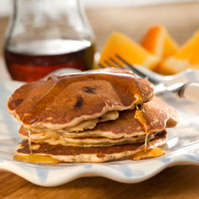 Skippy's Banana-chocolate Chip Pancakes