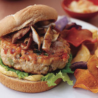 Tuna Burgers with Ginger, Garlic and Soy Sauce