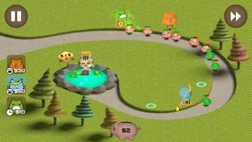 Screenshot of FooCat Defense