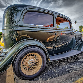 Green Ford by Ron Meyers - Transportation Automobiles