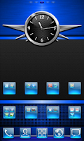 Screenshot of Blue Gloss Theme
