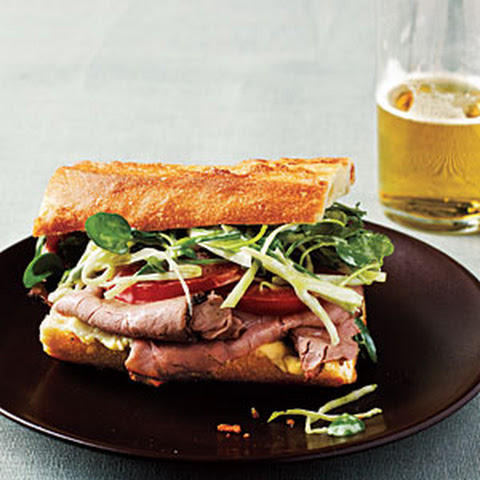 Roast Beef Coleslaw Sandwich | Ground Beef, Pork Roast and Pot Roast ...