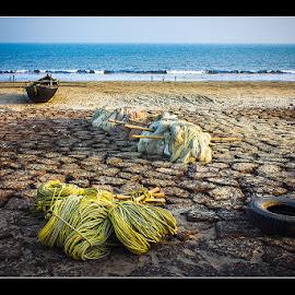 boat alone by Pankaj Ghosh - Landscapes Travel