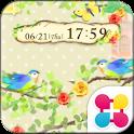 しあわせの小鳥 for[+]HOMEきせかえテーマ icon