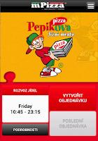 Screenshot of Pepikova pizza Praha
