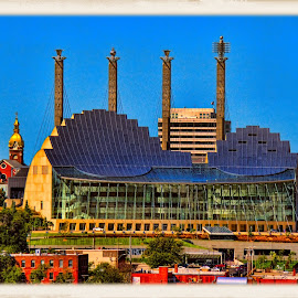 performing arts center, kansas city by Jim Knoch - City,  Street & Park  Skylines