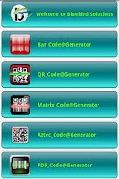 Screenshot of Code Generator