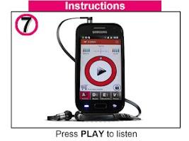 Screenshot of ListenMee