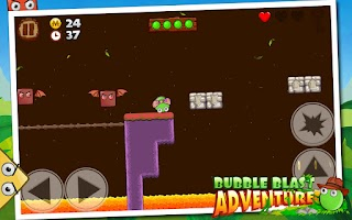 Screenshot of Bubble Blast Adventure