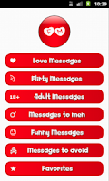 Screenshot of Flirty & Love Messages
