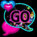 GO SMS THEME/ColorSplatHeart icon