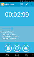 Screenshot of Debate Timer