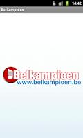 Screenshot of Belkampioen