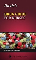 Screenshot of Davis's Drug Guide for Nurses