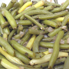 Southern Style Green Beans the Porkless Way