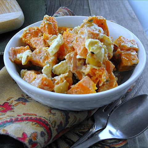 Feta Cheese Sweet Potato Salad