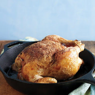 Garlic-Stuffed Roasted Chicken