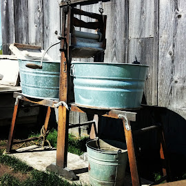 hand washed by Andrew Galatovic - Instagram & Mobile Android ( handwash farm homestead vintage old )