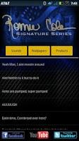Screenshot of Ronnie Coleman SignatureSeries