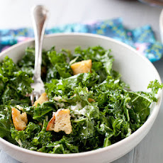 Massaged Kale Caesar Salad