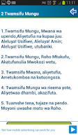 Screenshot of Nyimbo Za Kristo