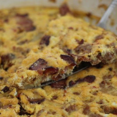 Bacon Potato Sausage Frittata