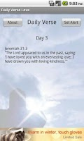Screenshot of Daily Verse - Love