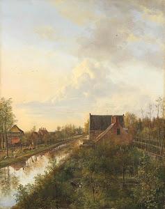 RIJKS: Pieter Gerardus van Os: The Canal at 's-Graveland 1818
