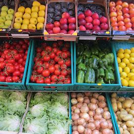by Áslaug Óttarsdóttir - City,  Street & Park  Markets & Shops