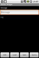 Screenshot of Socket Widget