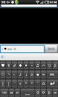 Screenshot of SymbolsKeyboard & TextArt Lite
