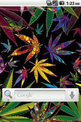 Weed Art Live Wallpaper
