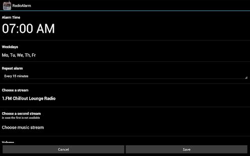 app alarm clock radio free apk for windows phone android. Black Bedroom Furniture Sets. Home Design Ideas