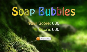 Screenshot of Pop Soap Bubbles